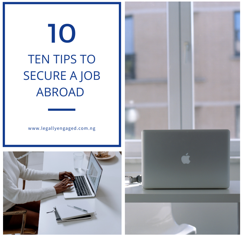 Tips for Securing a Job Abroad – Gabriella Jibunoh